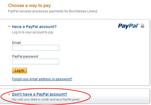 Does amazon take paypal credit