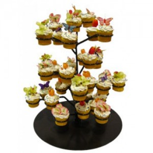 cupcake flower stand