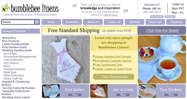 An inside look at how my online store redesign has increased sales bumblebee linens junglespirit Images
