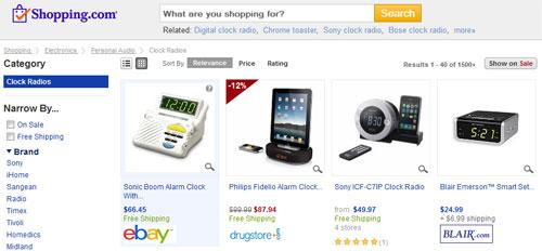 shopping.com site
