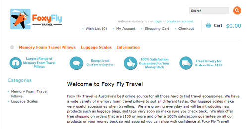 foxy fly travel