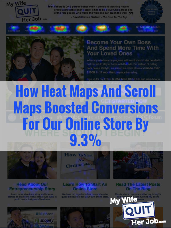 How Heat Maps And Scroll Maps Boosted Conversions For Our Online Store By 9.3%