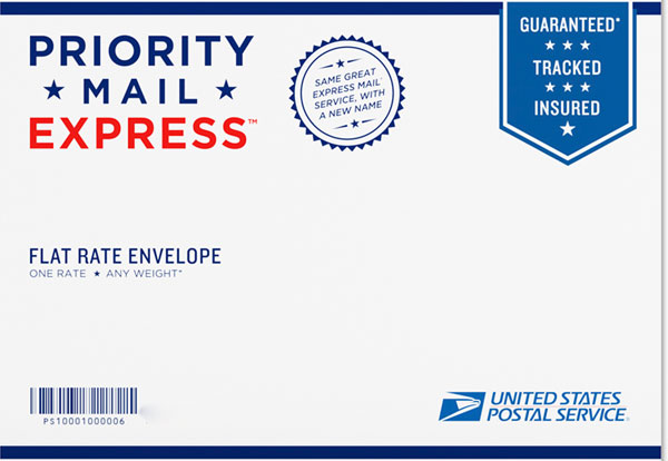 express mail is the united states post offices version of next day deliveryexcept that it isnt always next day unlike fedex and ups which guarantees