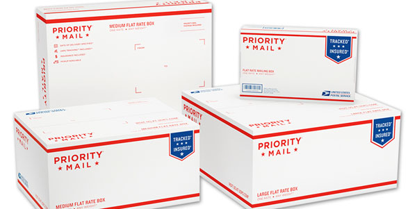 Examples of Free Priority Mail Shipping Boxes are Available from USPS