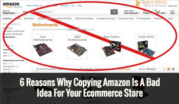 Copying Amazon