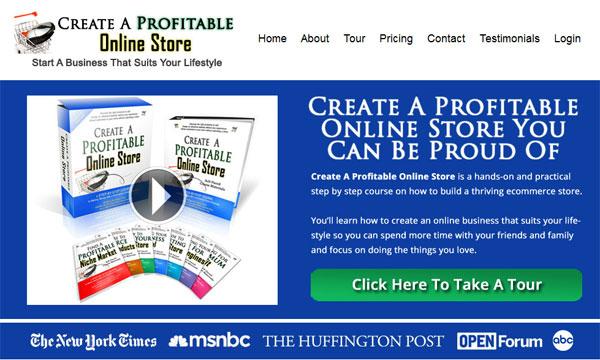 Create A Profitable Online Store