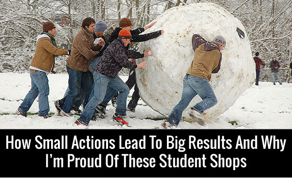 Small Actions Lead To Big Results
