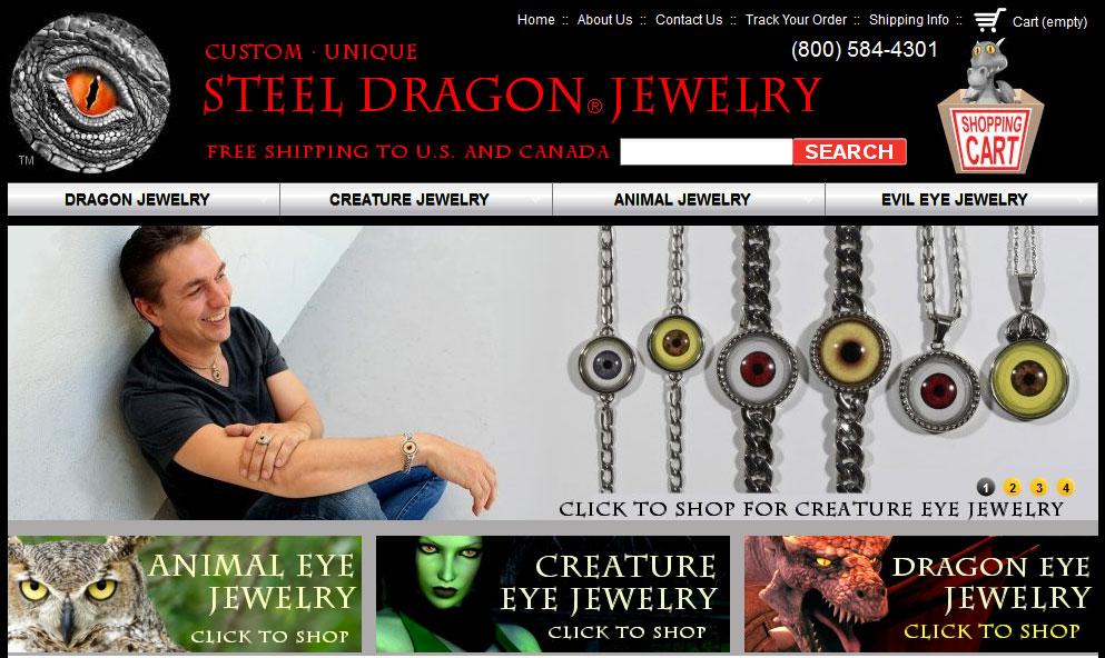 Steel Dragon Jewelry