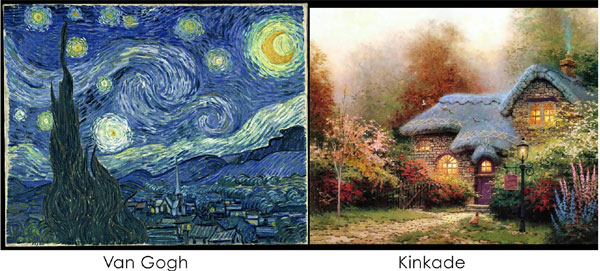 Van Gogh Vs Kincade
