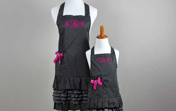 Pair Of Personalized Aprons