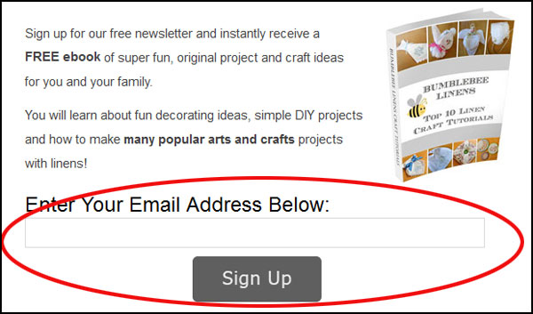 FB Email Signup