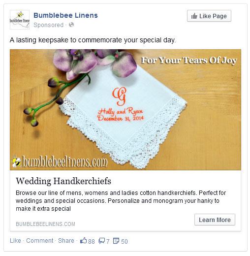 Handkerchief Ad