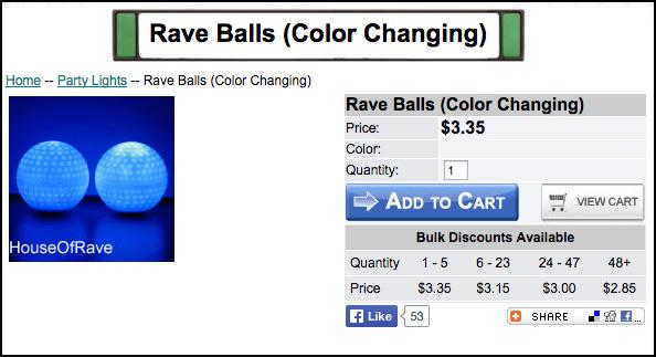 Steve Rave Balls