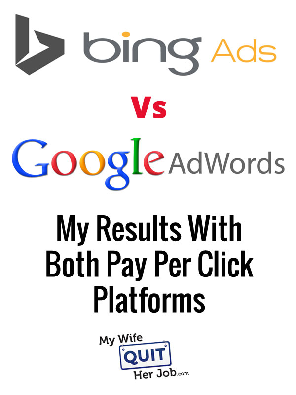 Bing Ads Vs Google Adwords – My Results With Both Pay Per Click Advertising Platforms