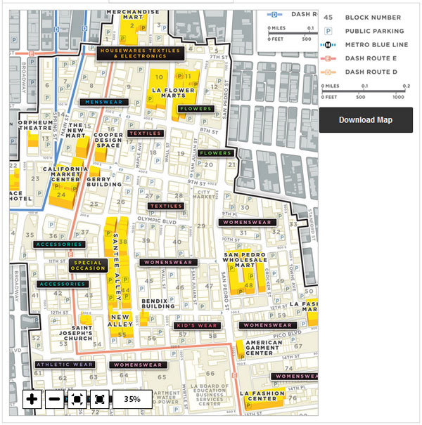 Fashion District Map Fashion District Map Cool Maps,   World Map Database