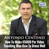 How To Make $5000 Per You Tube Video Teaching Men How To Dress Well