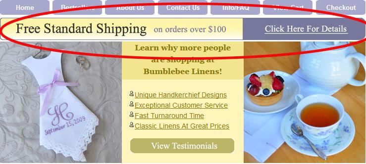 Free Shipping Threshold