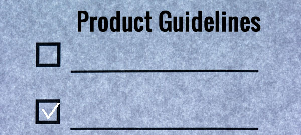 Product Guidelines