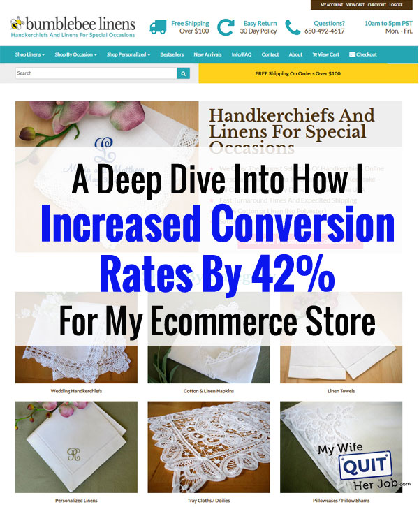 A Deep Dive Into How I Increased Conversion Rates 42% For My Ecommerce Store