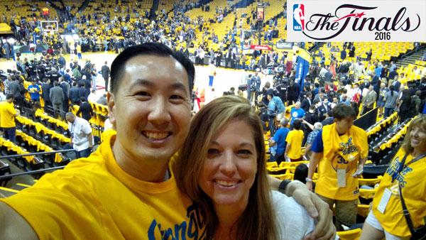 NBA Finals Game 1 Toni