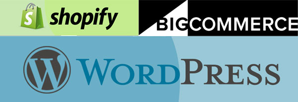 Wordpress With Shopify Or BigCommerce