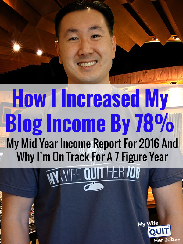 Income Report: How My Blog Performed As A Business In The First Half Of 2016