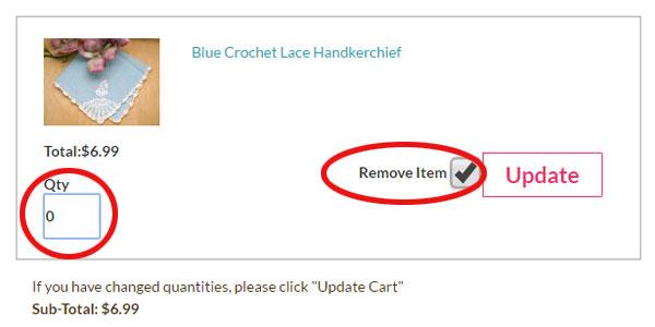 cart remove fix