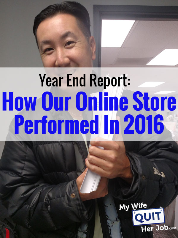 2016 Income Report: How I Grew My Online Store Sales This Past Year