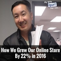 148: How We Grew Our Ecommerce Business By 22% In 2016 With Steve Chou