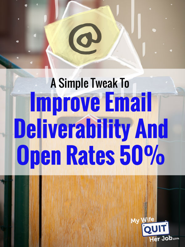A Simple Tweak To Improve Email Deliverability And Open Rates 50%