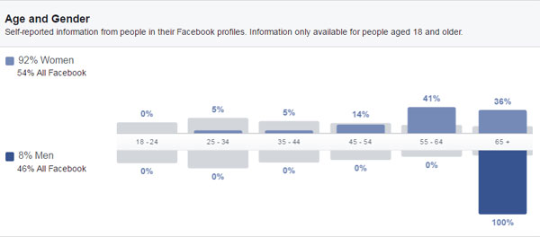 Facebook Insights Age