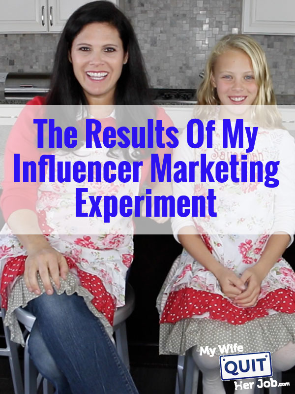 The Results Of My Influencer Marketing Experiment With Real Data From My Shop