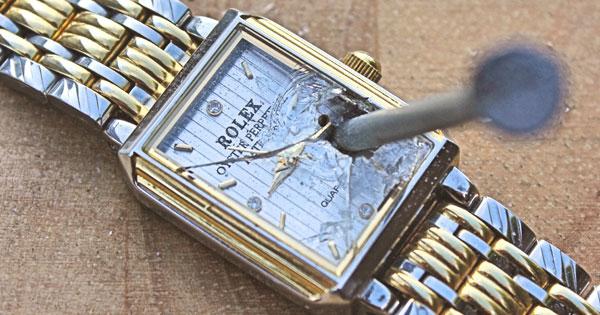 broken watch