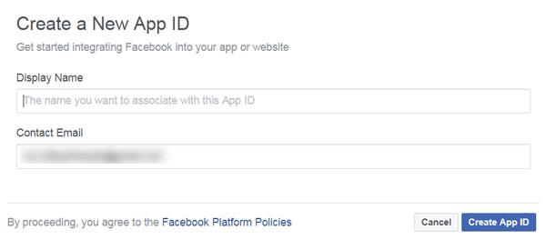 FB App Step 1