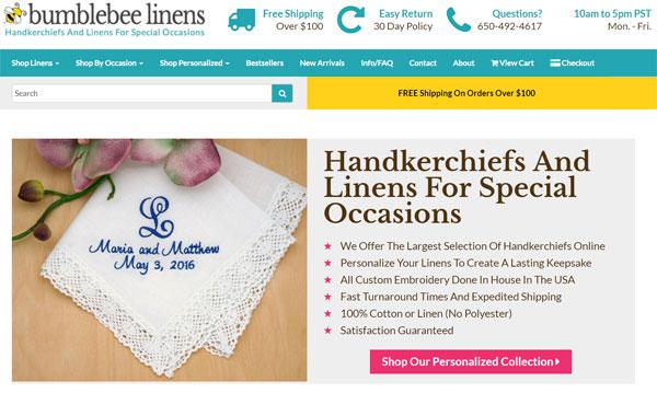 Bumblebee Linens