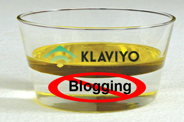 Klaviyo Blogging