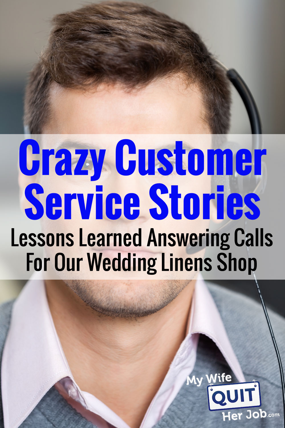 Crazy Customer Service Stories - Lessons Learned Answering Calls For Our Wedding Shop