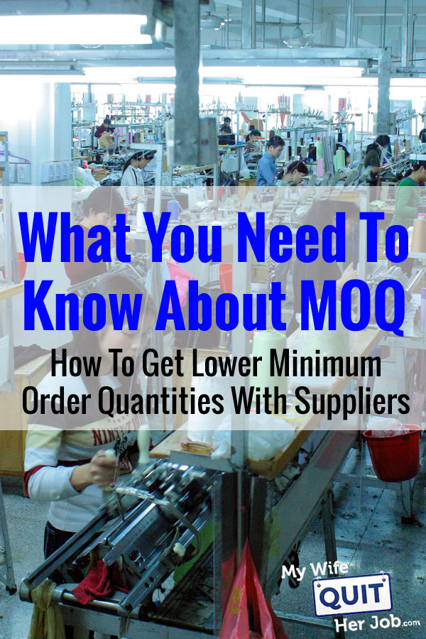 MOQ Meaning - How To Get Lower Minimum Order Quantities With