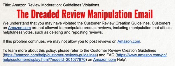 Amazon Review Manipulation