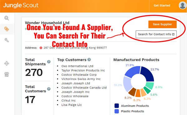 Supplier Search