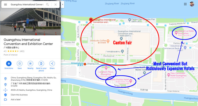 Canton Fair Location