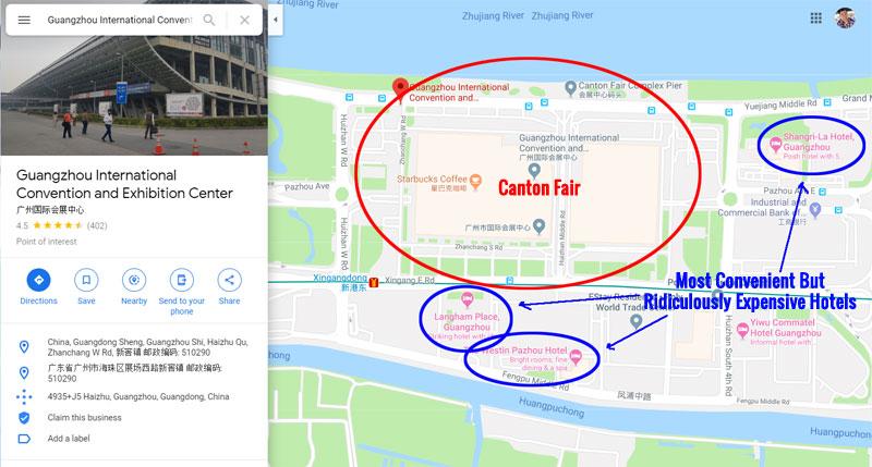 Canton Fair Location