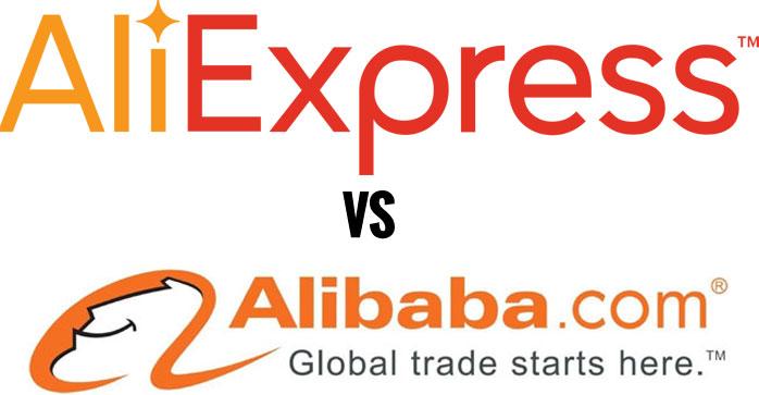 Alibaba Vs AliExpress