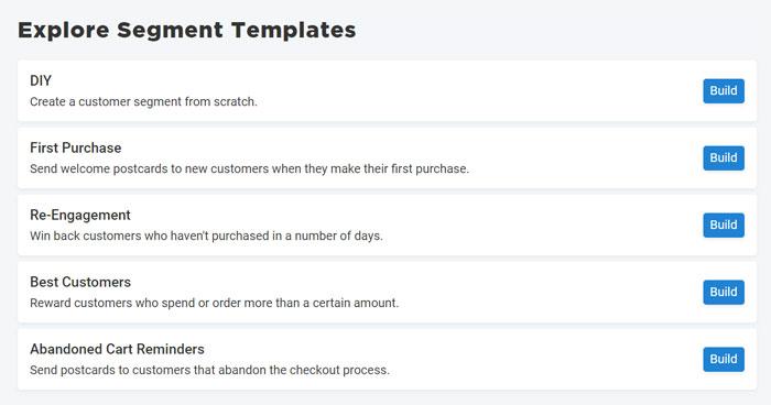 Postpilot templates