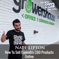 298: Nate Lipton On How To Sell Cannabis CBD Products Online