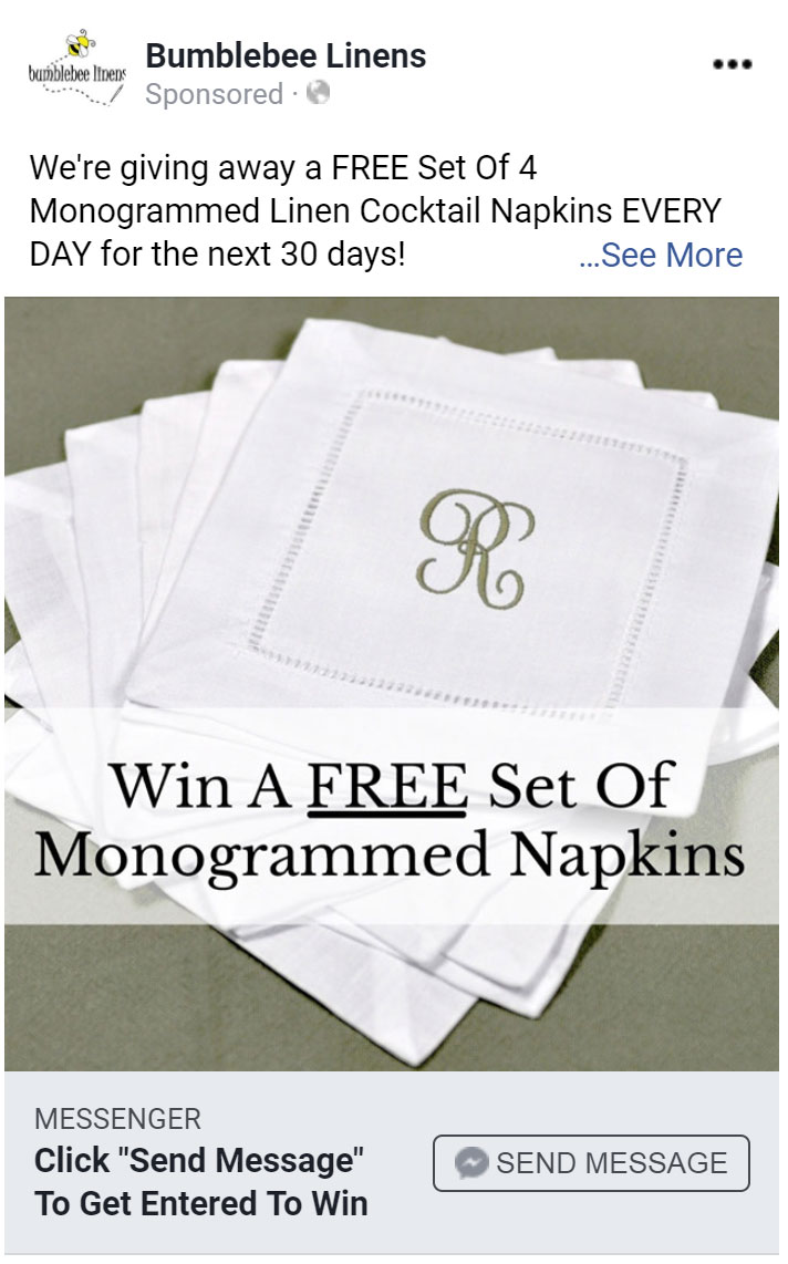 Giveaway Ad
