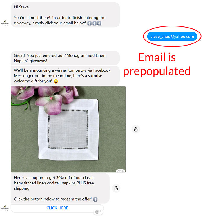 Messenger Email