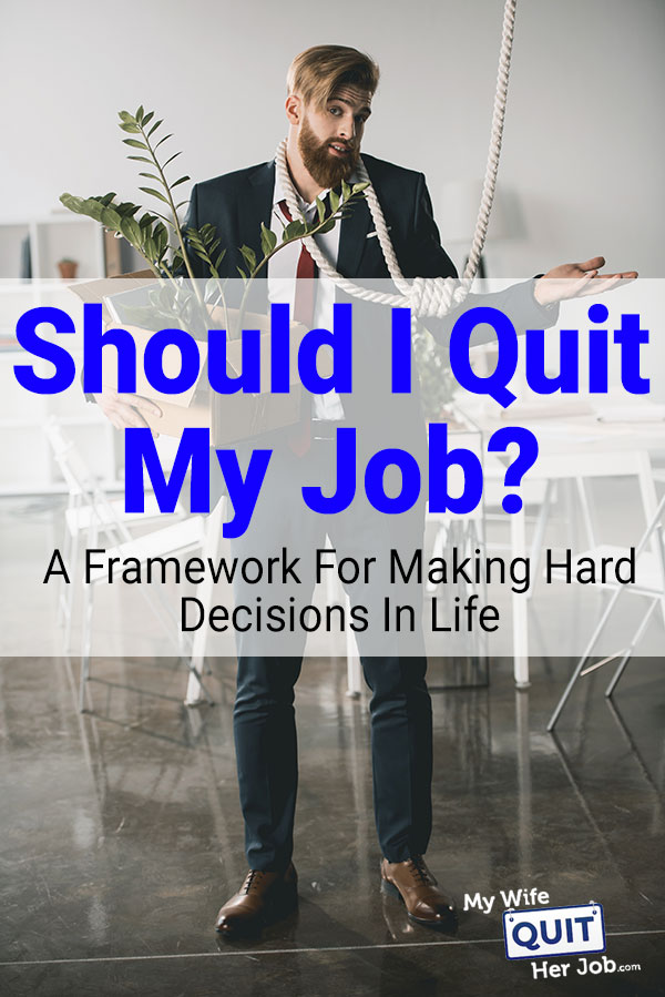 Should I Quit My Job, Business Or Partnership?  When To Move On...