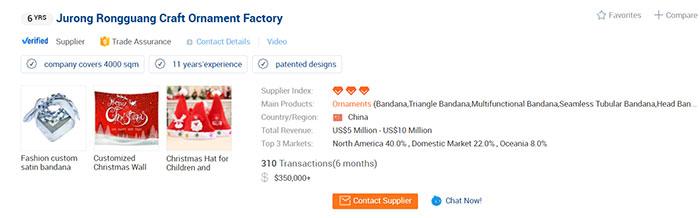 Verified Supplier Alibaba