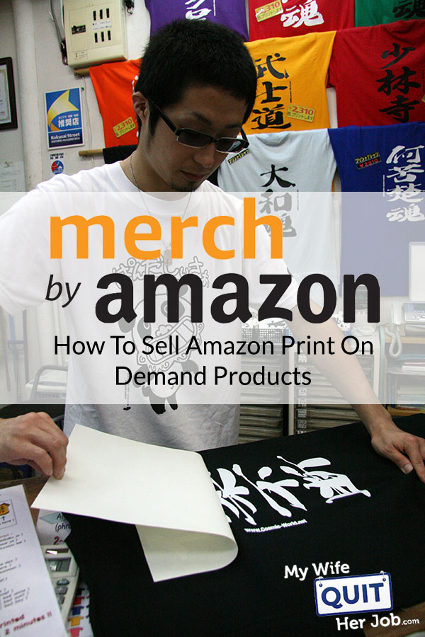 Merch By Amazon & How To Sell Amazon Print On Demand Products